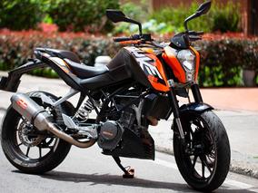 Vendo Ktm Duke 200, 2014 Con 30.000km Con Accesorios Extras