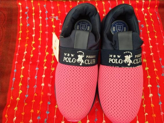 Calzado Urbano Rosa Polo Club Dama