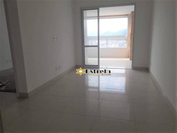 Apartamento Com 2 Dormitórios À Venda, 86 M² Por R$ 516.465 - Centro - São Vicente/sp - Ap10939