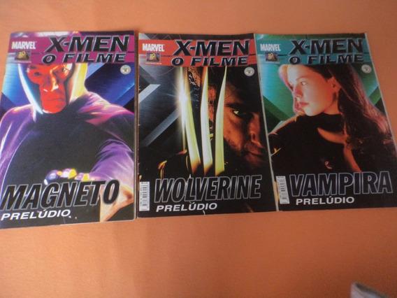 Hq - X-men O Filme - Prelúdio (3 Revistas)