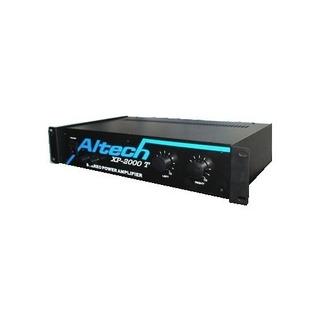 Potencia Crossover Bluetooth Usb Fm Sd Altech Xp2000 Plus