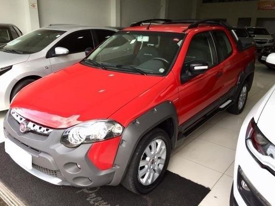 Fiat Strada Adventure Vermelha 1.8 Cd 2014
