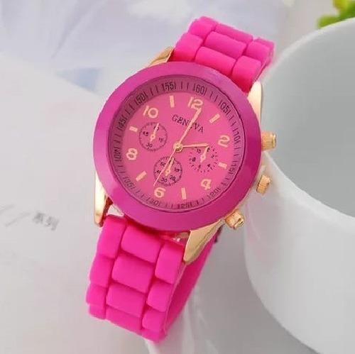 Relógio  Feminino Silicone Barato Novo Mulheres Beleza