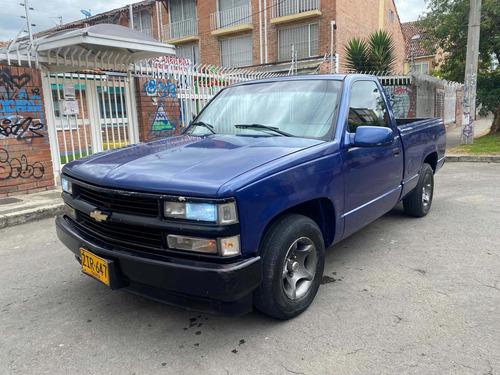 Imagen 1 de 14 de Chevrolet Silverado 1998 5.7 C1500 Fleetside