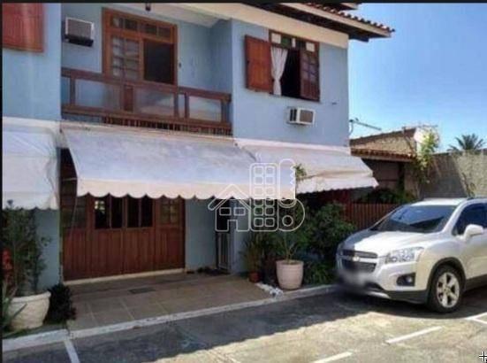 Maravilhosa Casa Com Quatro Dormitórios Em Itaipu- Goiabão - Ca0966