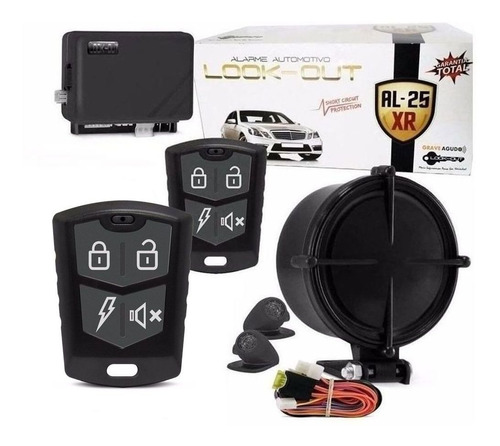 Alarme Automotivo Universal Carro Anti Assalto Look Al-25