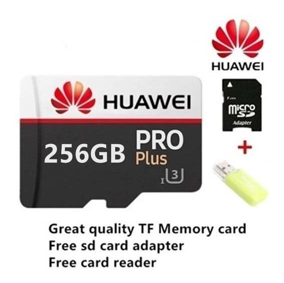 Cartão Memória Hauwei Original De 256gb Classe10 Pro+ Brinde