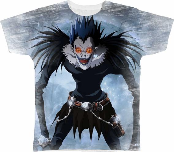 Camisa Camiseta Personalizada Ryuk Shinigami Death Note