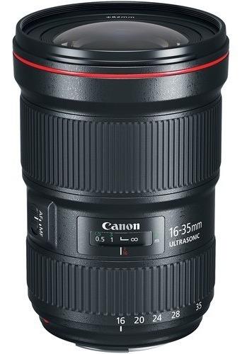 Lente Canon Ef 16-35mm F/2.8l Iii Usm Garantia Brasil - Nfe