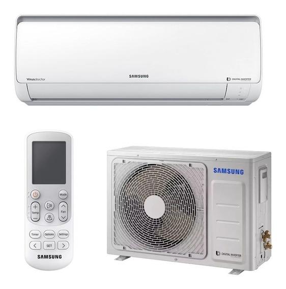 Ar Condicionado Split Samsung Digital Inverter 8 Polos 9000 Btus Q/f 220v Ar09msspbgmxaz