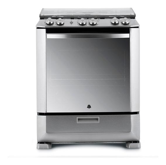 Cocina A Gas 76 Cm Inoxidable Con Grill Ge Appliances Cg776i