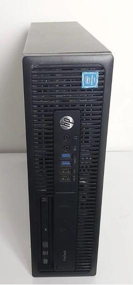 Cpu Empresarial Hp Prodesk 600 G2 Intel Pentium 4gb Hd-500gb