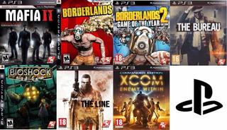Pack Ps3 Mafia 2, Borderlands 1 & 2, Bioshock, Spec Ops