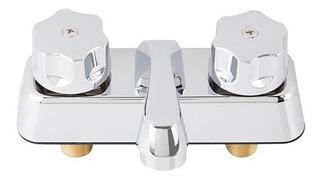 Llave Mezcladora Para Lavabo 4´ Cromada Combina Perfecto !
