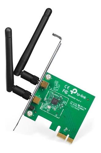 Imagen 1 de 6 de Placa De Red Tp-link Tl-wn881nd Wifi N 300 Mbps Pci Express