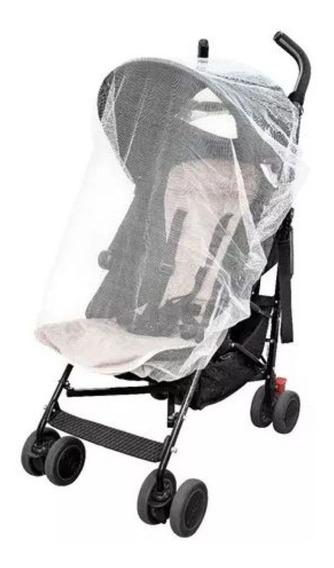 Tela Mosqueteiro Para Carrinho De Bebê Com Elástico Passeios Com Protecao E Conforto Para A Crianca Kababy.