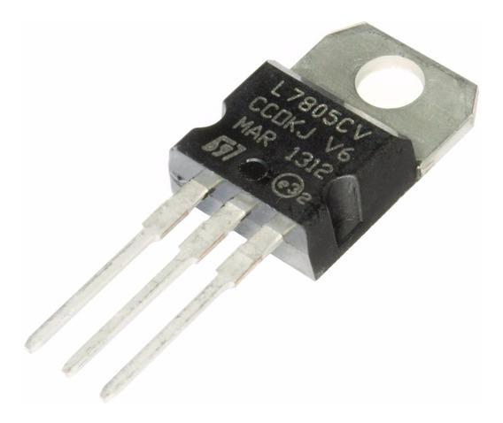 6 Regulador Lm7805 L7805cv To220 Arduino