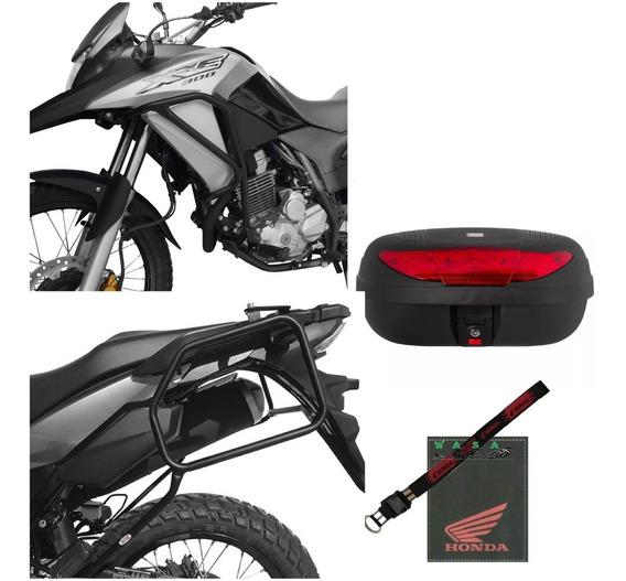 Kit Xre300 Protetor Motor Carenagem C/p Afastador Alforge To
