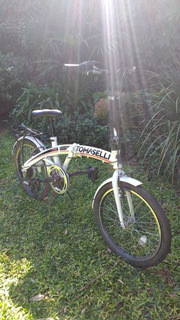 Bicicleta Plegable Tomaselli Foldwing Solo Con 2 Usos!