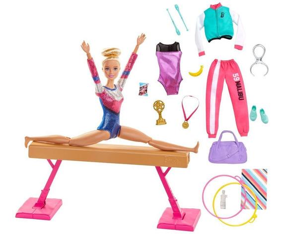 Barbie Careers, Set Gimnasta