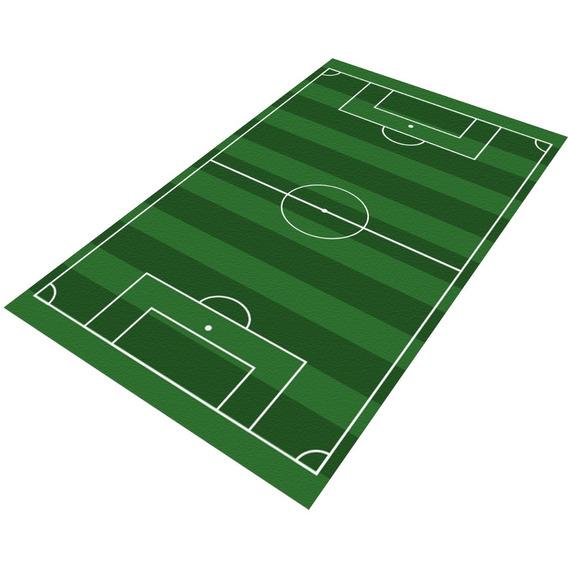 Tapete Infantil Campo Futebol 60x120 Antiderrapante