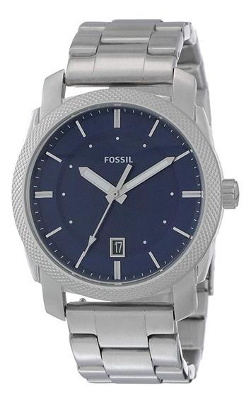 Reloj Fossil F55340 Color Plata Para Hombre