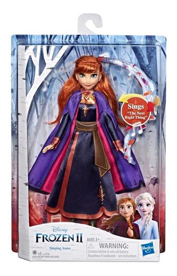 Muñeca Frozen 2 Hasbro E5498 Cantante Articulada Ana Elsa