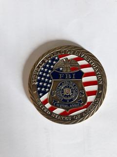 Brasão Do Fbi (cx, Chaveiros)