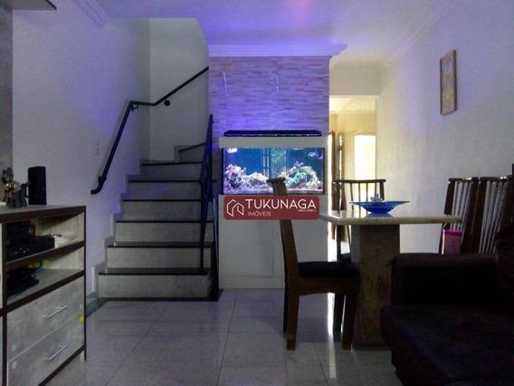 Sobrado Com 2 Dormitórios À Venda, 128 M² Por R$ 404.000 - Vila Dionisia - São Paulo/sp - So0545