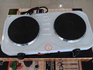 Cocina Electrica 2 Hornillas Hot Plate 2000w Nuevas Garantía