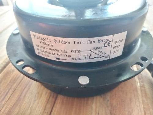 Motor Ventilador Aire Acondicionado Split 50v En 220 Watts