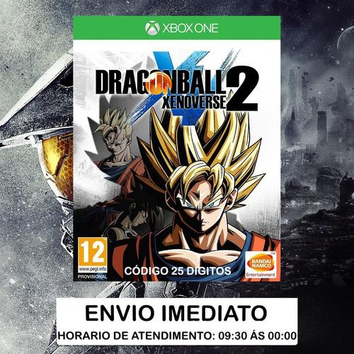 Dragon Ball Xenoverse 2 Xbox One Código 25 Dígitos