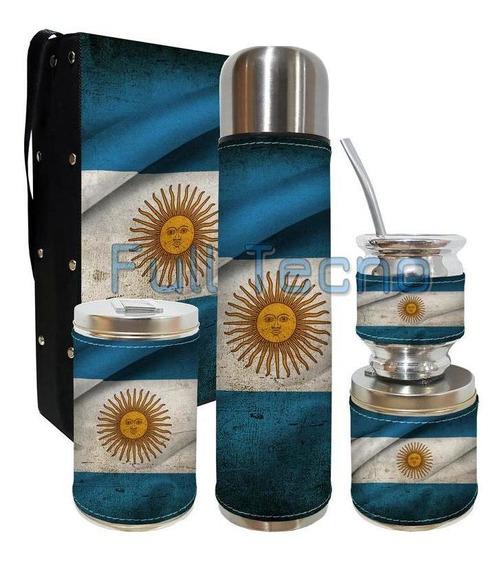 Set Matero 5 Piezas Rigido Argentina Excelente Calidad