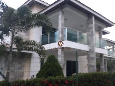 Casa Com 4 Dormitórios À Venda, 30 M² Por R$ 1.290.000,00 - Condomínio Alphaville Fortaleza Residencial - Eusébio/ce - Ca0177
