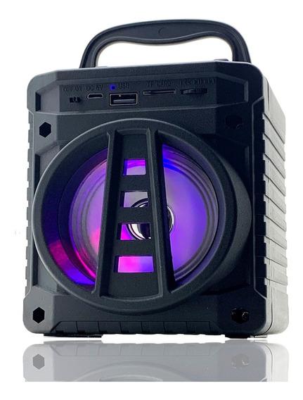 Caixa Caixinha De Som Portátil Bluetooth Mp3 Sd Rádio Fm Usb