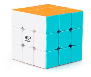 Cubo Rubik 3x3 Qiyi Warrior W Stickerless Lubricado