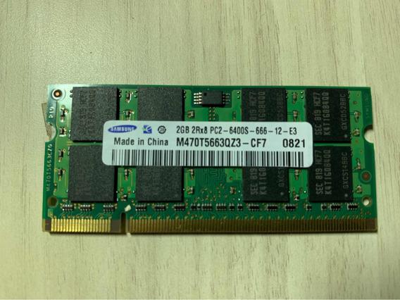 Memória Ddr2 Samsung 2gb 667mhz