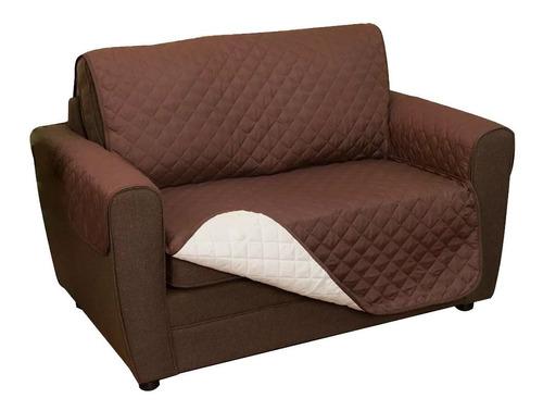 Funda Sofa Saver Cubre Sillon 2 Cuerpos Protector Tapicería