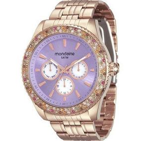Relógio Mondaine Feminino 78731lpmvra3 Moda Rose