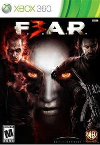 Jogo Fear 3 Xbox 360 Original Completo Pronta Entrega Game