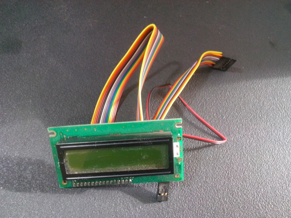 Display Lcd 16x2 Backlight Blue (c1624a) + Chicote