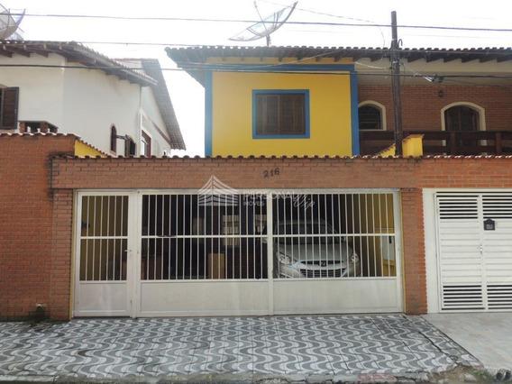Sobrado Residencial À Venda, Vila Euro, São Bernardo Do Campo. - So0155