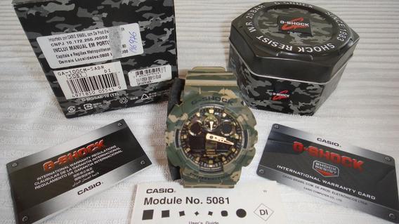 Relogio Casio G-shock Ga-100cm-5adr
