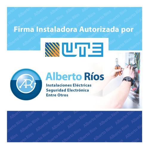 Firma Instaladora Autorizada Por Ute