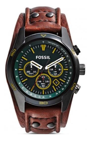 Relogio Masculino Fossil Original Promocao Ch2923/0vn