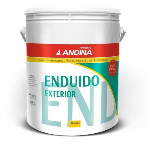 Enduido Paredes Exterior Andina - 4lts Pintumm