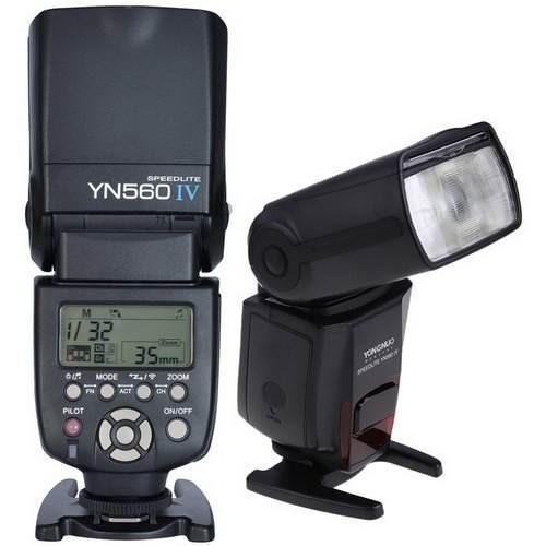 Novo Flash Yongnuo Yn560 4 Para Canon