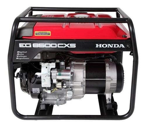 Generador portátil Honda EG6500CXS 5500W monofásico con tecnología AVR 220V