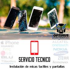 Servicio Instalación De Pantallas Mica Táctil Celular Uv 3m