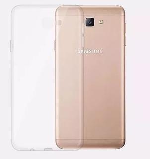 Capinha Case Capa Galaxy J5 Prime Silicone + Pelicula De Gel